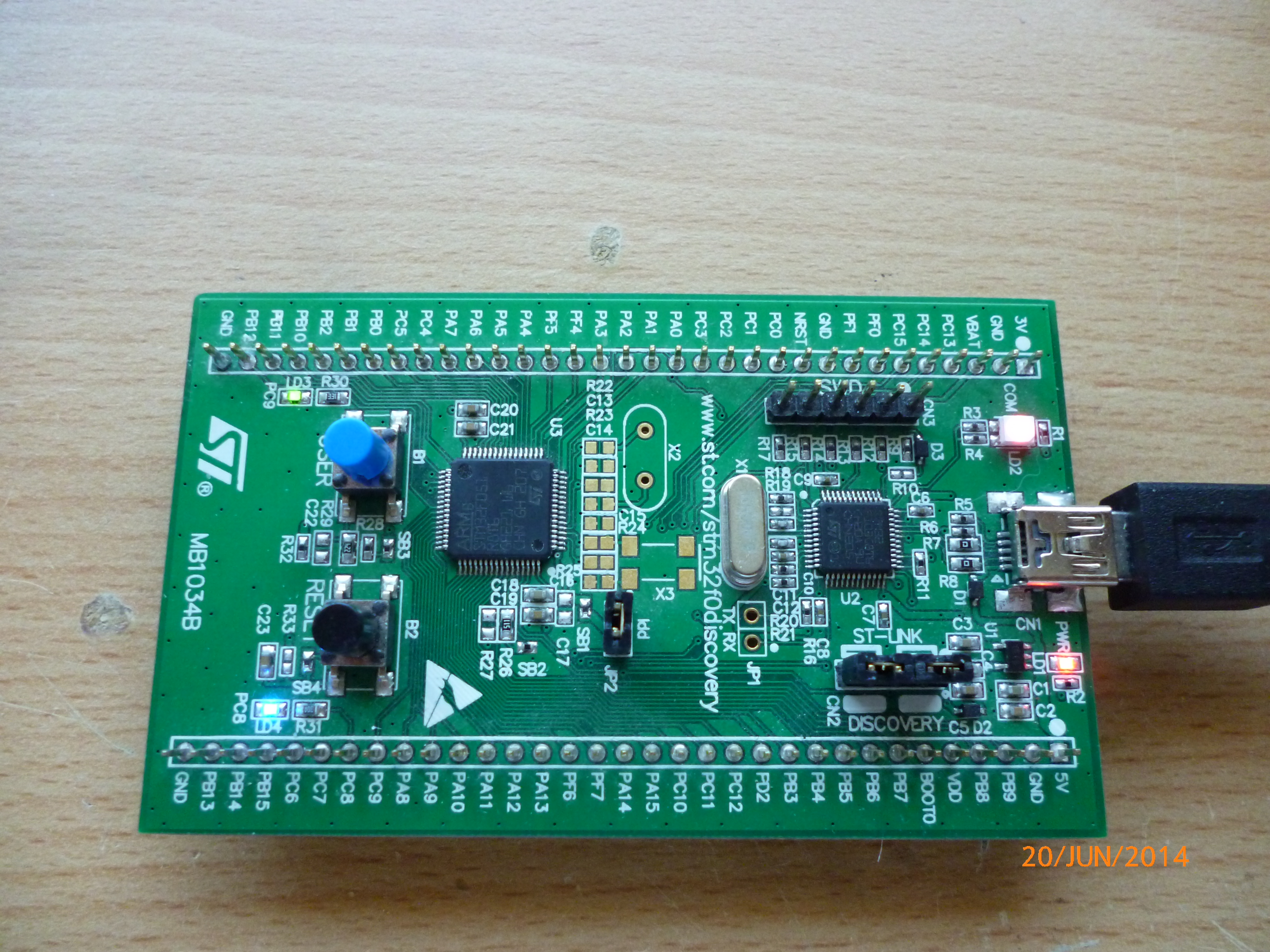 STM32F0 Tutorial 2 – SysTick – Harris' Electronics