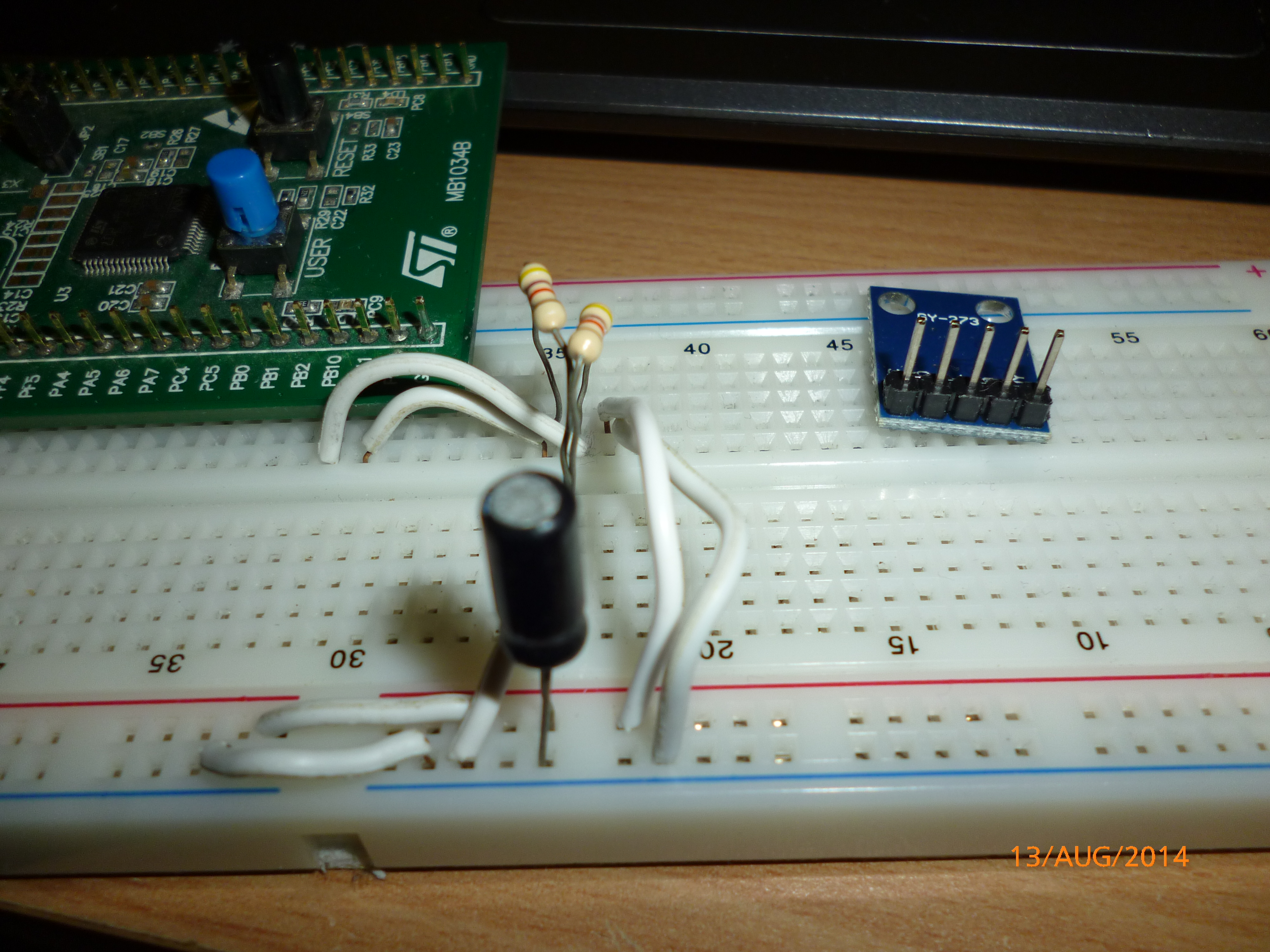 STM32F0 Mini tutorial – Using the I2C peripheral to communicate with