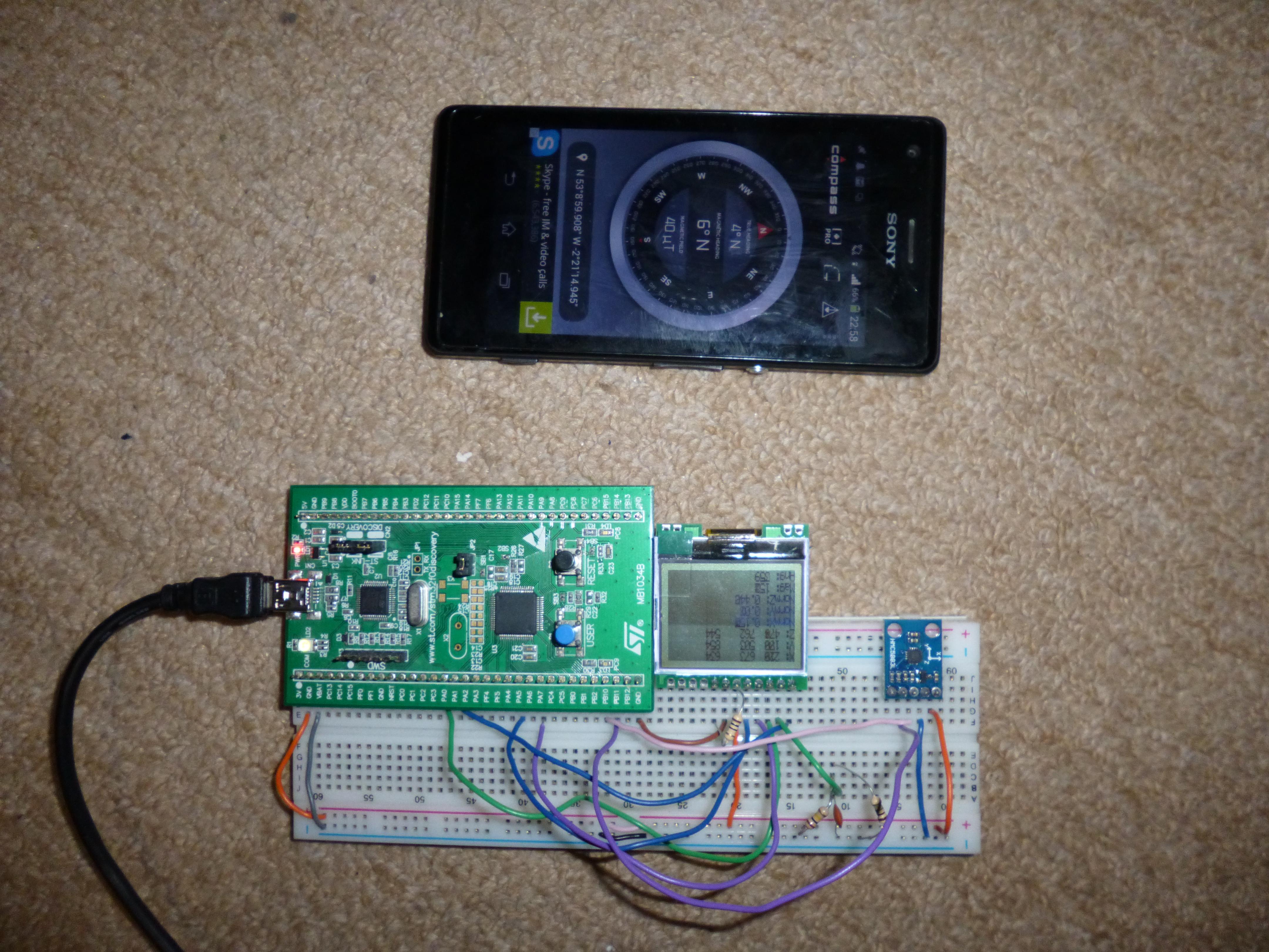 Normalised HMC5883L Compass – Harris' Electronics