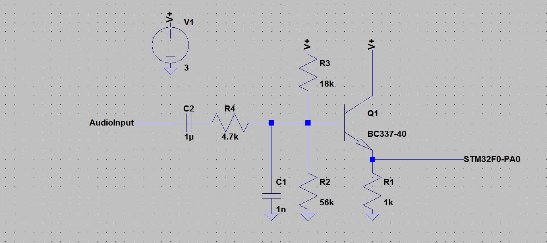 STM32F0 Audio graphic spectrum analyzer – Harris' Electronics