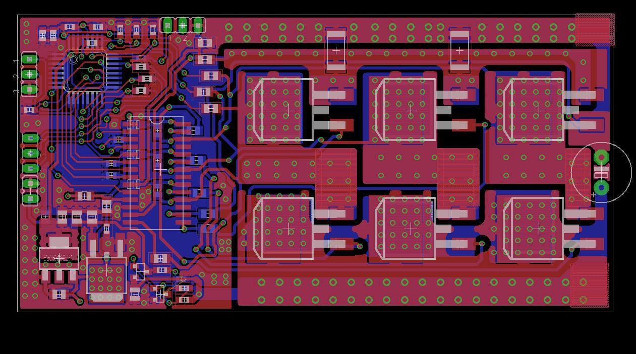 skelecs and a custom bldc controller